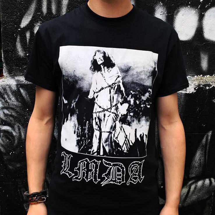 T-shirt LMDA Burning Witch