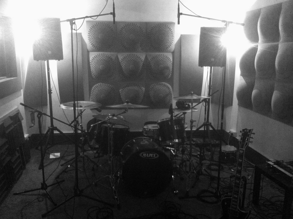 Drums recording done