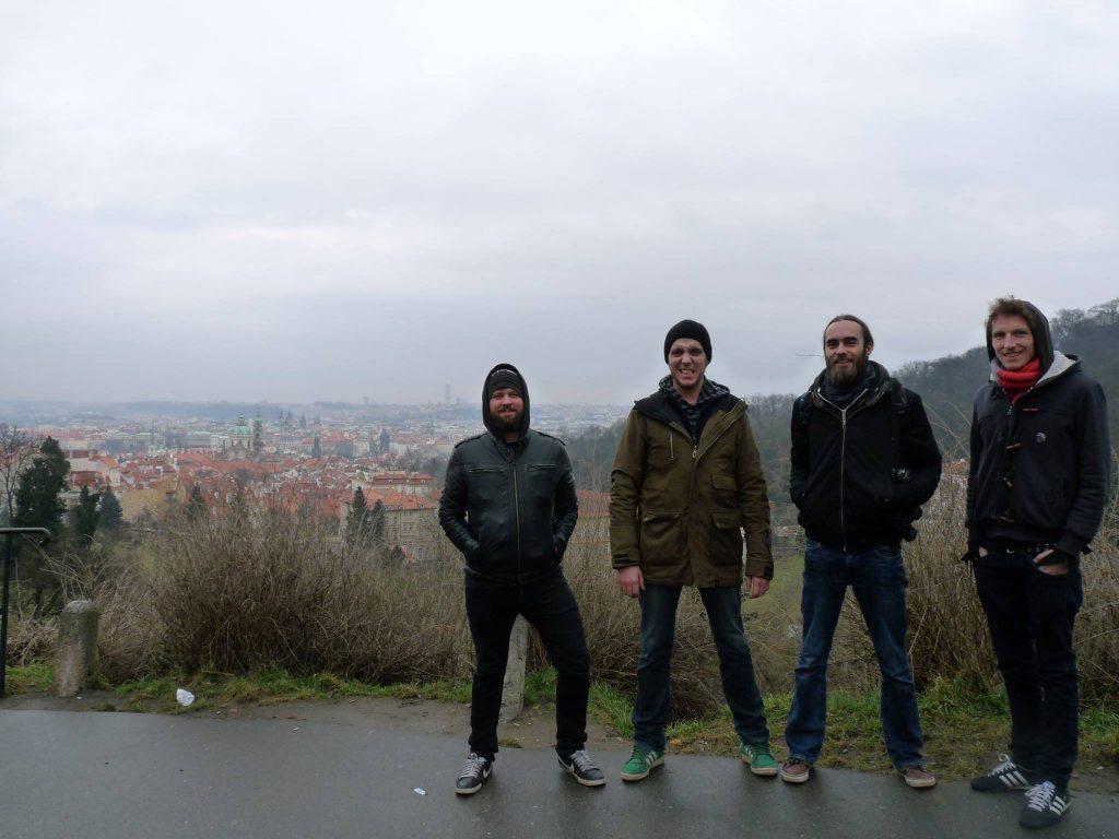 1st Yurodivy's birthday in Praha