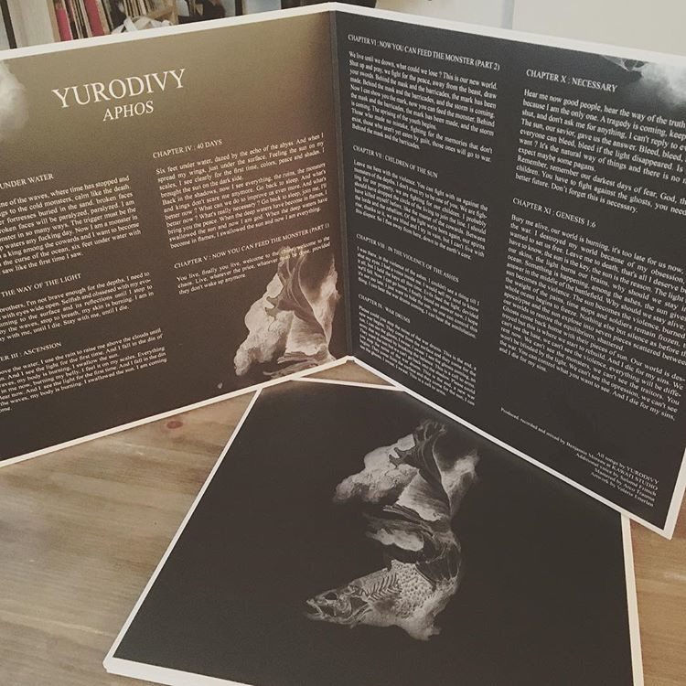 A vinyl, some words, Yurodivys's LP